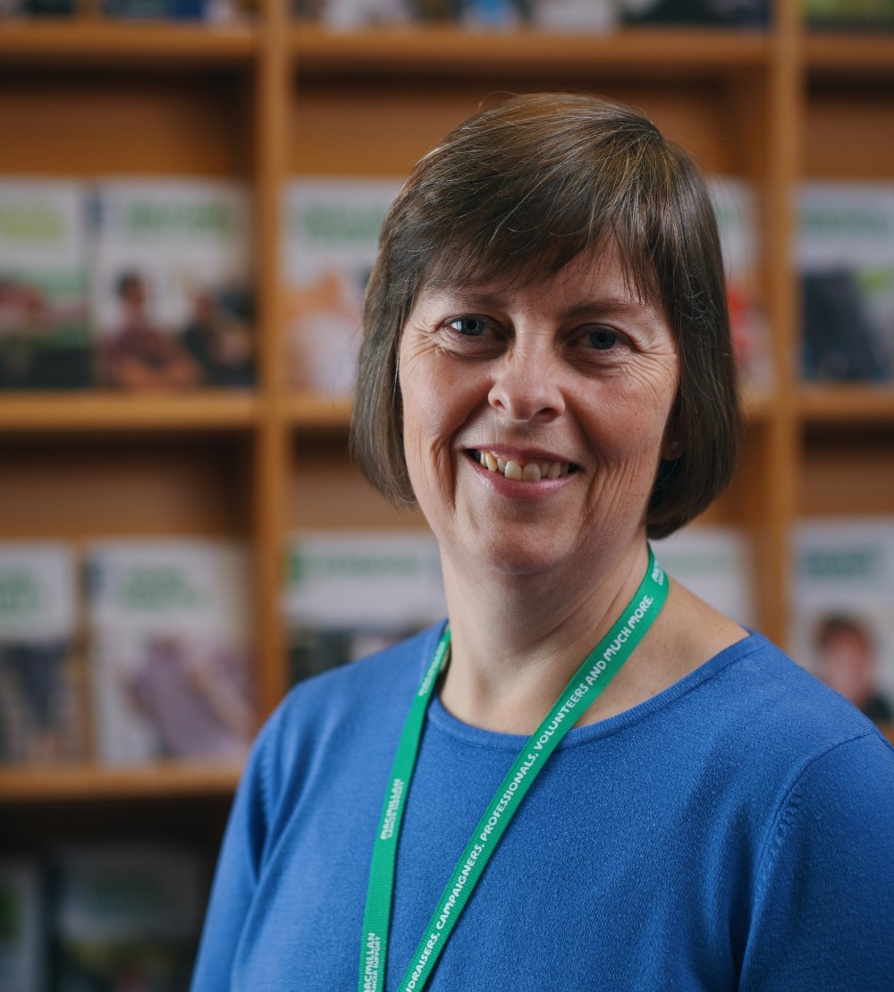 Sarah Davies, Macmillan Cancer Support